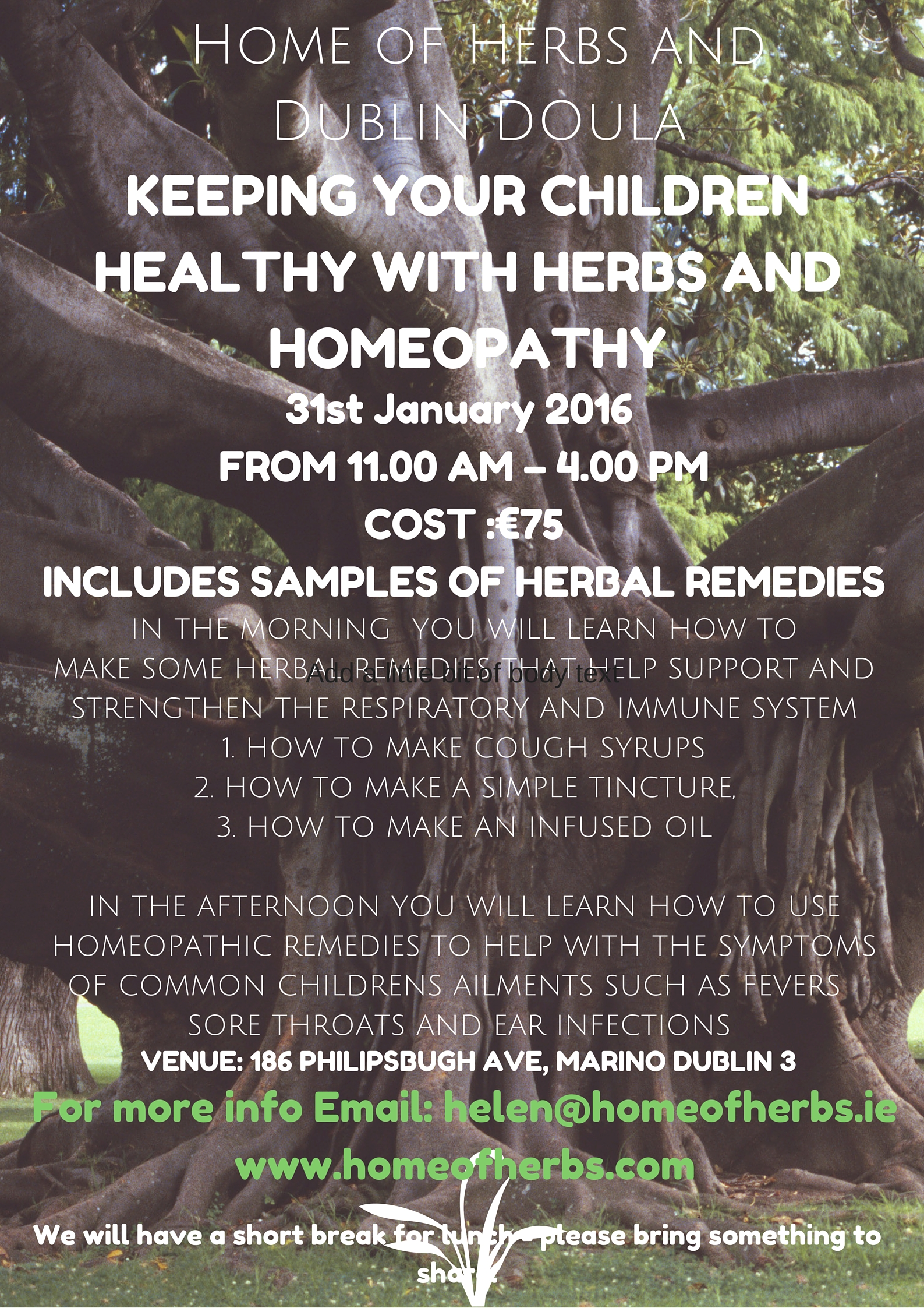 Keeping your Children Healthy with Herbs and Homeopathy